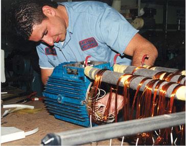 Electro Motors Ac Motor Rewinding Repair Center Kato